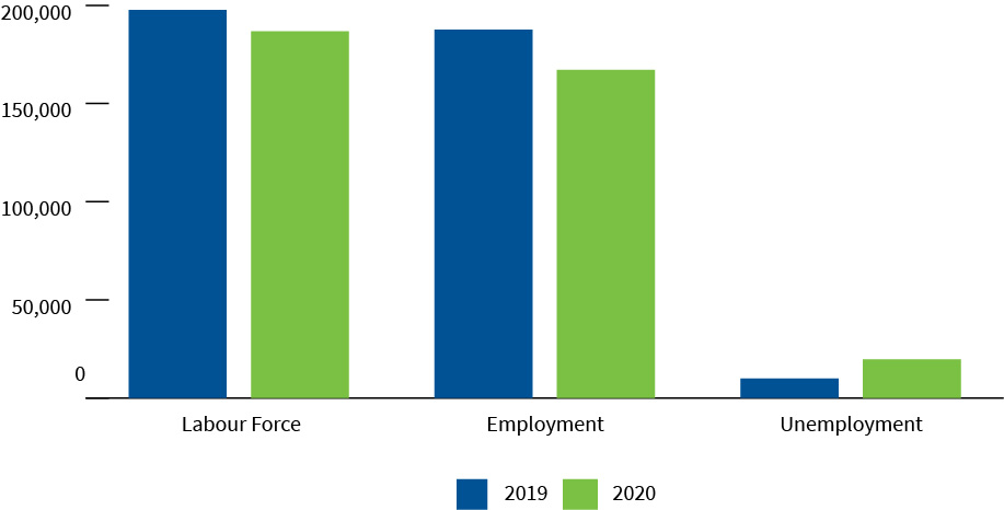 Labour force characteristics for Canada's oil and gas industry, 2019 to 2020